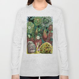 The case of The Wrong Feed On The Ol' Snail Trail... Long Sleeve T-shirt