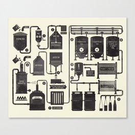 Brewing Canvas Print