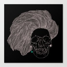 She is CHANEL Canvas Print