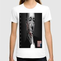 frank underwood T-shirts featuring frank underwood. by azyxz