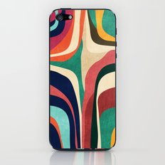 Impossible contour map iPhone & iPod Skin