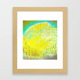 Porcupine Shedding Framed Art Print