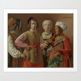 Georges de La Tour - The Fortune Teller Art Print