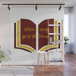 The Library Wall Mural