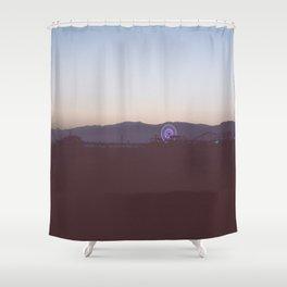 Santa Monica Nights  Shower Curtain