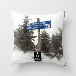 Skye Lark Throw Pillow
