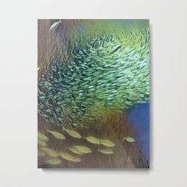In the Fish Bowl II Metal Print