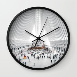 the oculus new york city Wall Clock