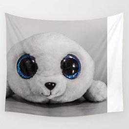 Huggable photogenic seal Wall Tapestry
