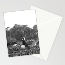Goose Monument Stationery Cards