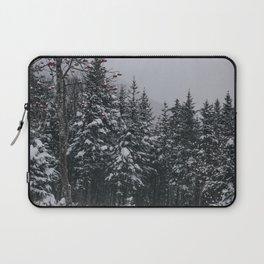 Winter at Lonesome Lake Laptop Sleeve