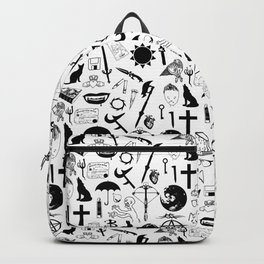 Buffy Symbology, Black Backpack