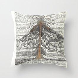 Erupt Throw Pillow