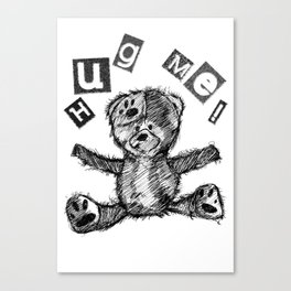 I Need A Bear Hug Canvas Print