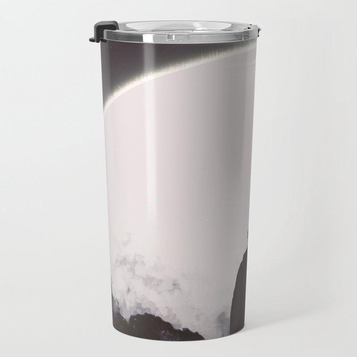 Abaddon Black & White Travel Mug