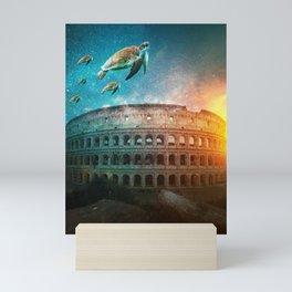 Roma under the water Mini Art Print