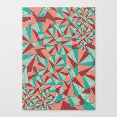 Marsala Pattern Canvas Print