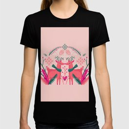 Rudolph And Rosi - Pastel Peach T-shirt