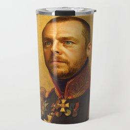Simon Pegg - replaceface Travel Mug