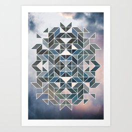 Colorful sky2 Art Print