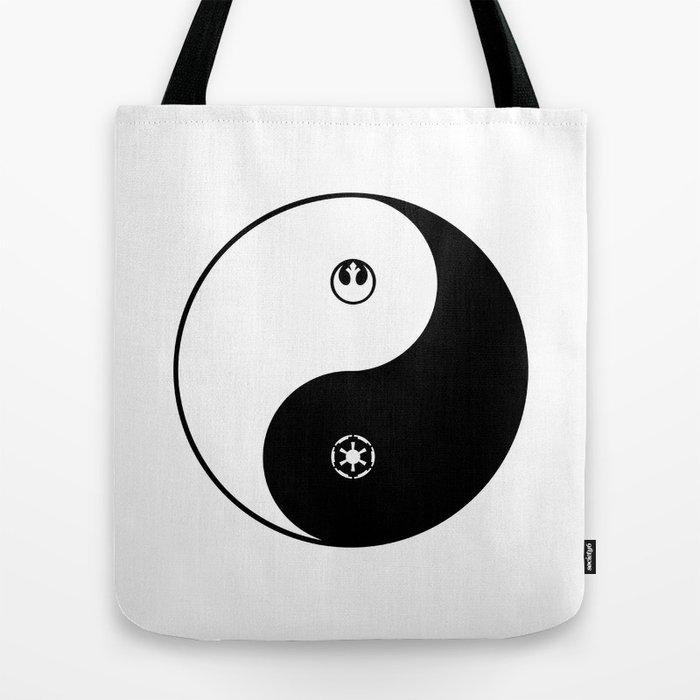 Rebel Empire Yin Yang Tote Bag By Drawintowonder Society6
