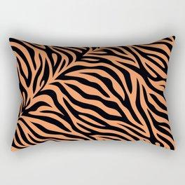 Modern abstract tiger skin illustration pattern Rectangular Pillow
