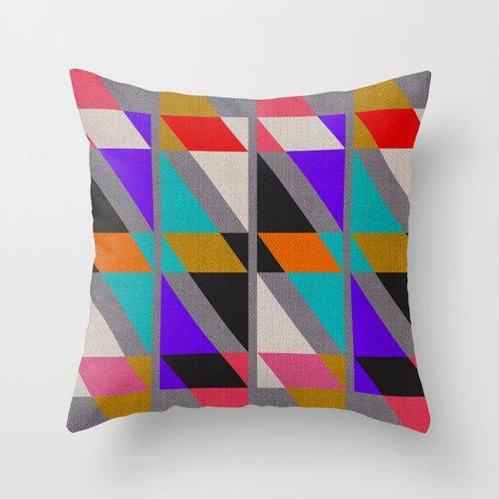 Fragments X Throw Pillow
