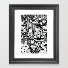 Dooome Framed Art Print