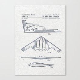 B2 Canvas Print