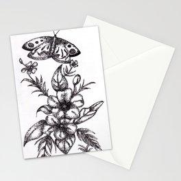 Flower Design Stationery Cards
