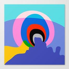 Mid Century Abstract 002 Canvas Print