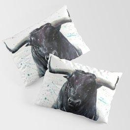 Buffalo watercolor Pillow Sham