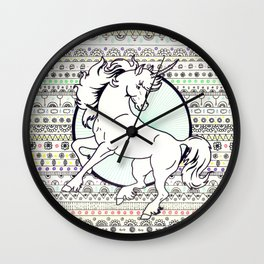 Unicorn Party Wall Clock