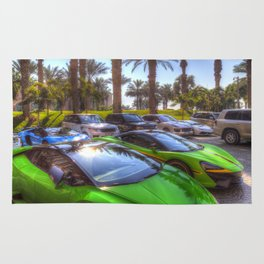 Dubai Super Cars Rug