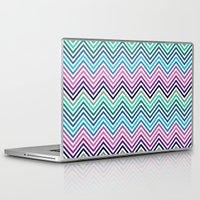 herringbone Laptop & iPad Skins featuring Herringbone by Adikt