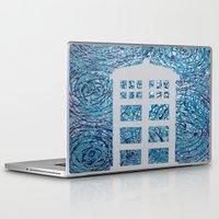 tardis Laptop & iPad Skins featuring Tardis by Sahara Novotny