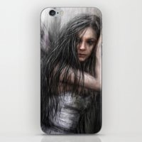fairy iPhone & iPod Skins featuring Fairy by Justin Gedak