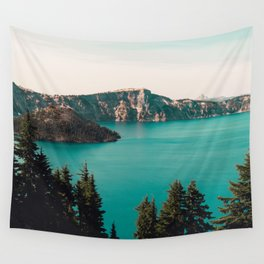 Dreamy Lake - Nature Photography Wall Tapestry