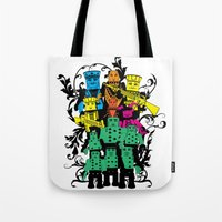 poker Tote Bags featuring Poker Toys by elRAiSE