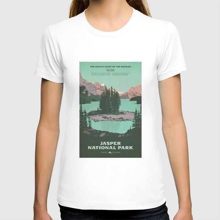 Jasper National Park Poster T-shirt