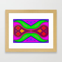 Bad dreams switching ... Framed Art Print