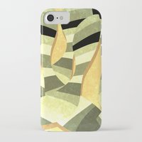 striped iPhone & iPod Cases featuring striped by Herb Vaine