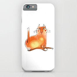 Yoga Cat #2 iPhone Case