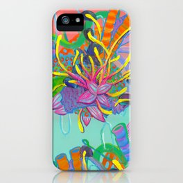 Alien Organisms 17 iPhone Case
