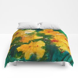 Party Pansies Comforters