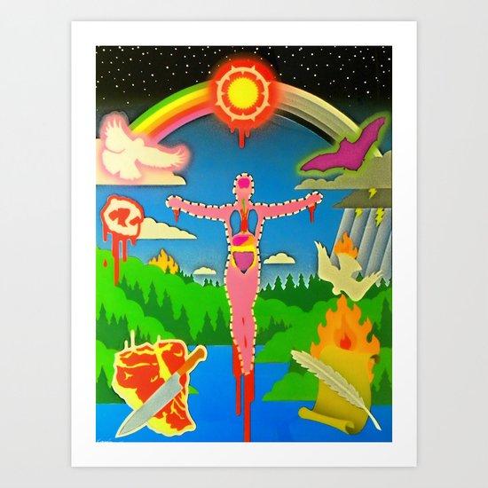"""REBIRTH"" Art Print"