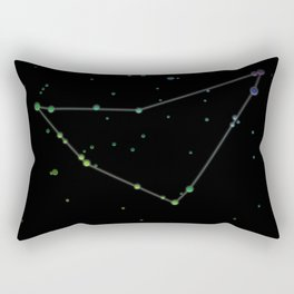 Capricornus 'The Sea-Goat' Constellation Rectangular Pillow
