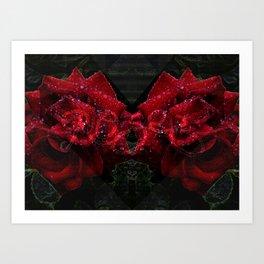 Roses V3 Art Print