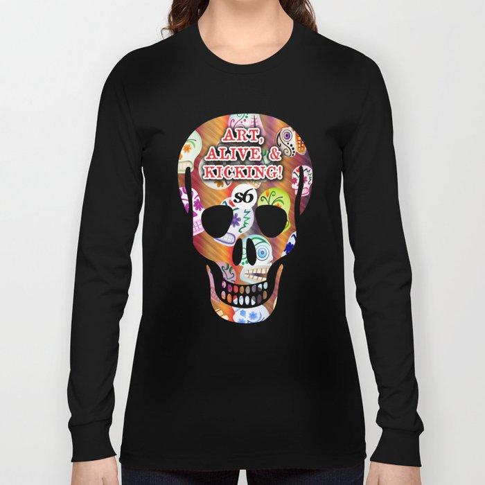 86 Mob of Skulls v2 3300 x 5100 S6 TEE  Long Sleeve T-shirt