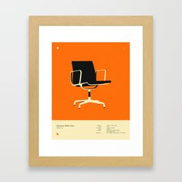 Aluminum Office Chair (1958) Framed Art Print